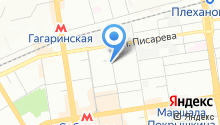 Сибэкспертиза на карте