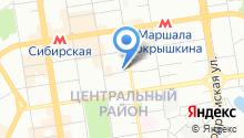 Abetransfer на карте