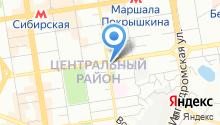 100 Домов-Новосибирск на карте
