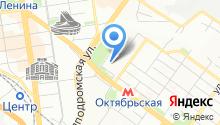 Министерство промышленности, торговли и развития предпринимательства Новосибирской области на карте