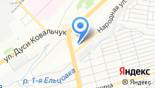 2К Сибирь на карте