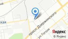 Дзержинский районный суд на карте