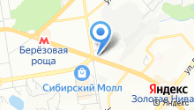 Сибирская Колесница на карте