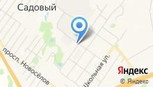 Краснояровское на карте