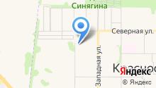 Новосибирский квартал на карте