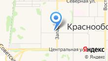 КРАСНООБСК 204, ТСН на карте
