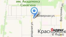 Бобровский на карте