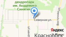 Сибирский реестр на карте
