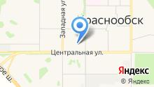 Салюти, ЗАО на карте