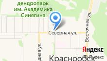 MATISS на карте