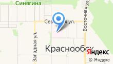 Новосибирская клиническая центральная районная больница на карте