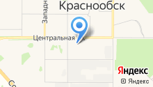 Автомагистраль на карте