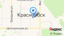 Детская музыкальная школа р.п. Краснообск на карте