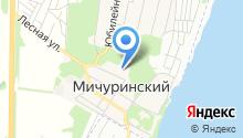 Солнечная улица на карте