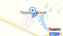 Продуктовый магазин на Комсомольской (пос. Первомайский) на карте