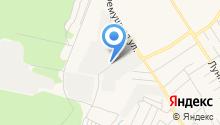 Бердская автомобильная школа на карте