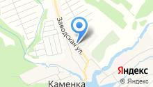 Продуктовый магазин на Заводской на карте