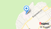 Бердская центральная городская больница на карте