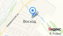 Чкаловское, ЗАО на карте