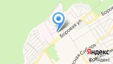 Бердский родильный дом на карте