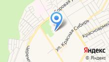 АВС-М на карте