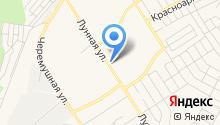 Алексеевские бани на карте