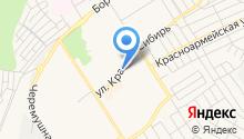 Магазин по продаже автоодеял на Красной Сибири на карте