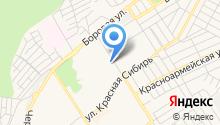 Бердская на карте