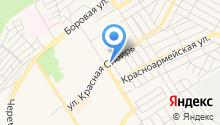 Автостоянка на Красной Сибири на карте
