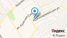 Гагарина на карте