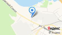 Парикмахерская на ул. Попова на карте