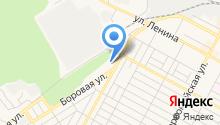 Авеню на карте