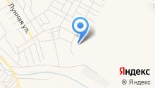 Белокаменный на карте