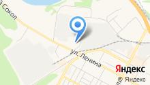 Бердск на карте