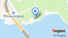 Речкуновский парк на карте
