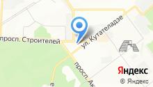 2 отряд ФПС по Новосибирской области на карте