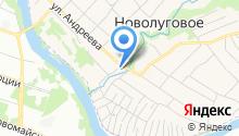 Продовольственный магазин на ул. Андреева на карте