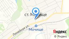 Лутовское на карте