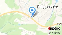 Шиномонтажная мастерская на Придорожной на карте