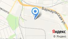 Бердский строительный трест, ЗАО на карте