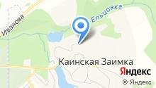 Серебряное озеро на карте