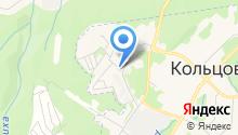 Кольцовская ветеринария на карте