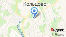 Наукоград Кольцово на карте
