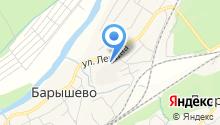 Ново-Барышевская, ЗАО на карте