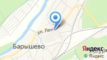 Салон красоты на ул. Ленина на карте