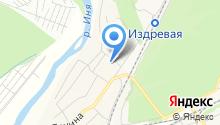 Барышевский на карте