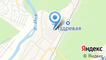 Альмета на карте