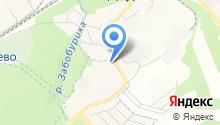Баня на ул. Кольцово пос на карте