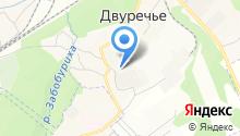 Сибирская магистраль на карте