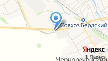 Шиномонтажная мастерская на Тепличной на карте